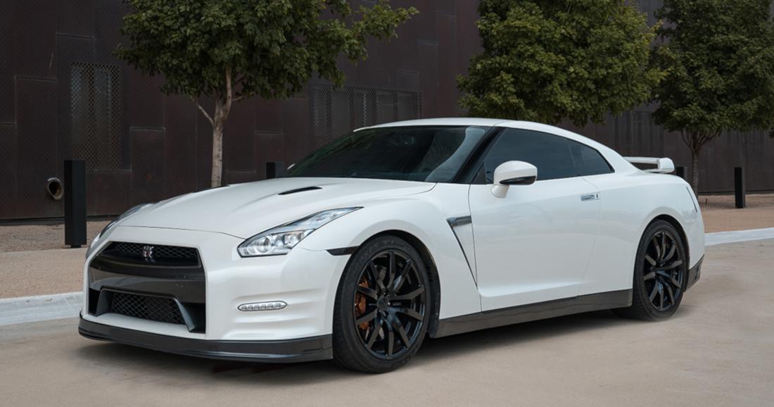 White Pearl 2012 Nissan GT-R