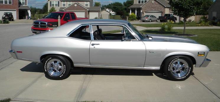 Cortez Silver 1970 GM Chevrolet Nova