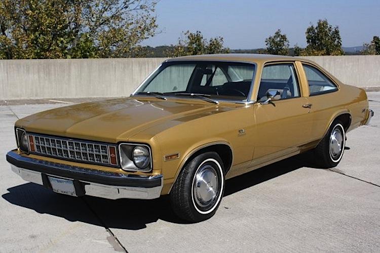 Anniversary Gold 1976 GM Chevrolet Nova Gold Medalist Edition