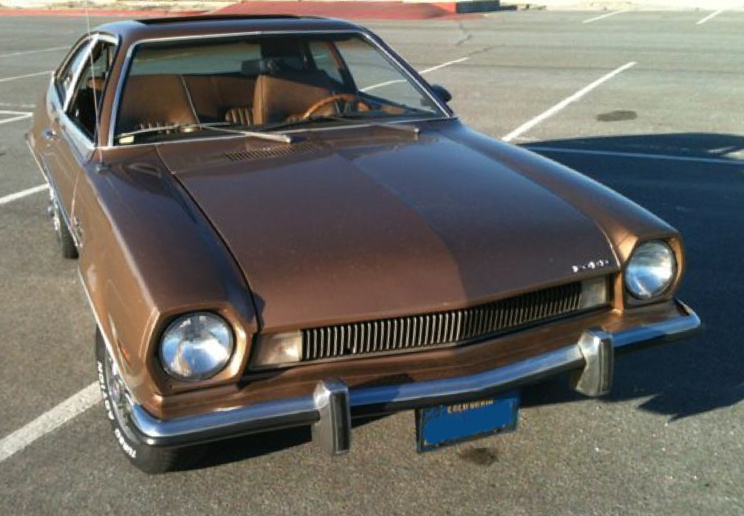 Medium Brown Ginger 1973 Ford Pinto Paint Cross Reference