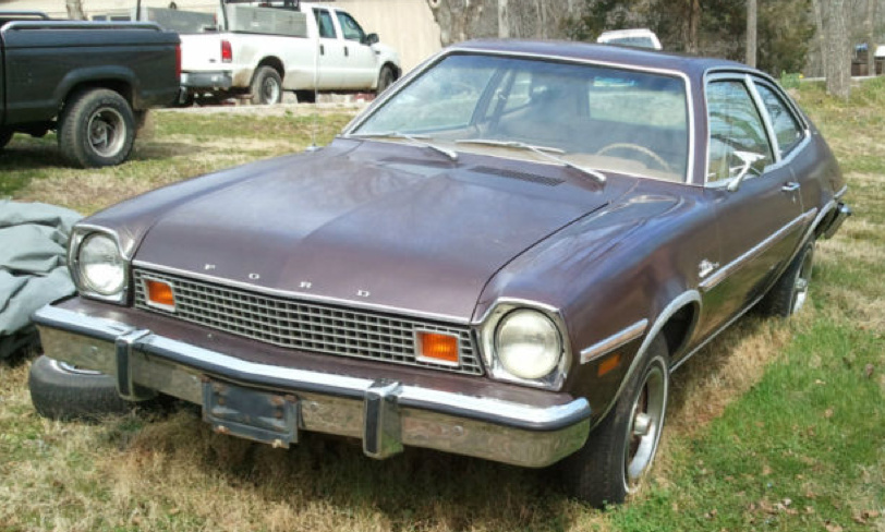 Dark Brown 1978 Pinto Paint Cross Reference