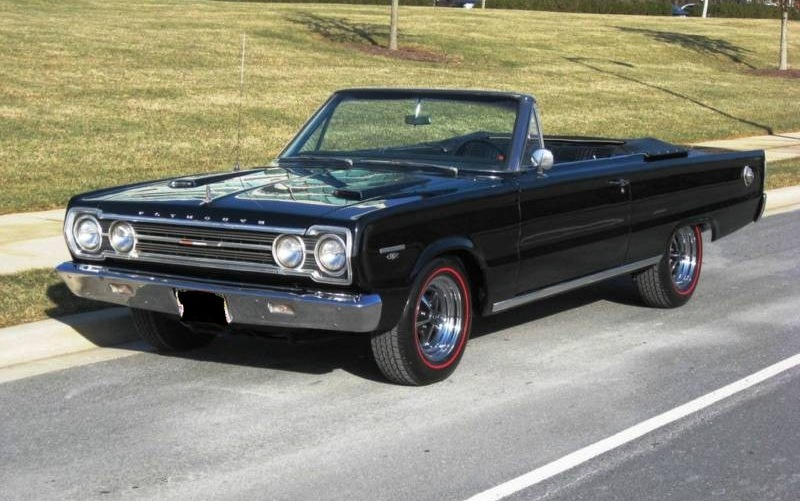 Black 1967 Plymouth