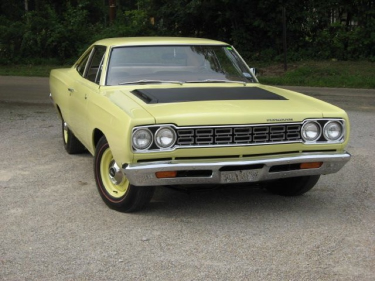 Sunfire Yellow 1968 Chrysler Plymouth