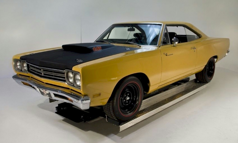 Bahama Yellow 1969 Plymouth Road Runner