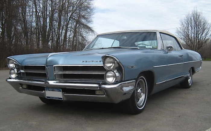 Fontaine Blue 1965 GM Pontiac Catalina