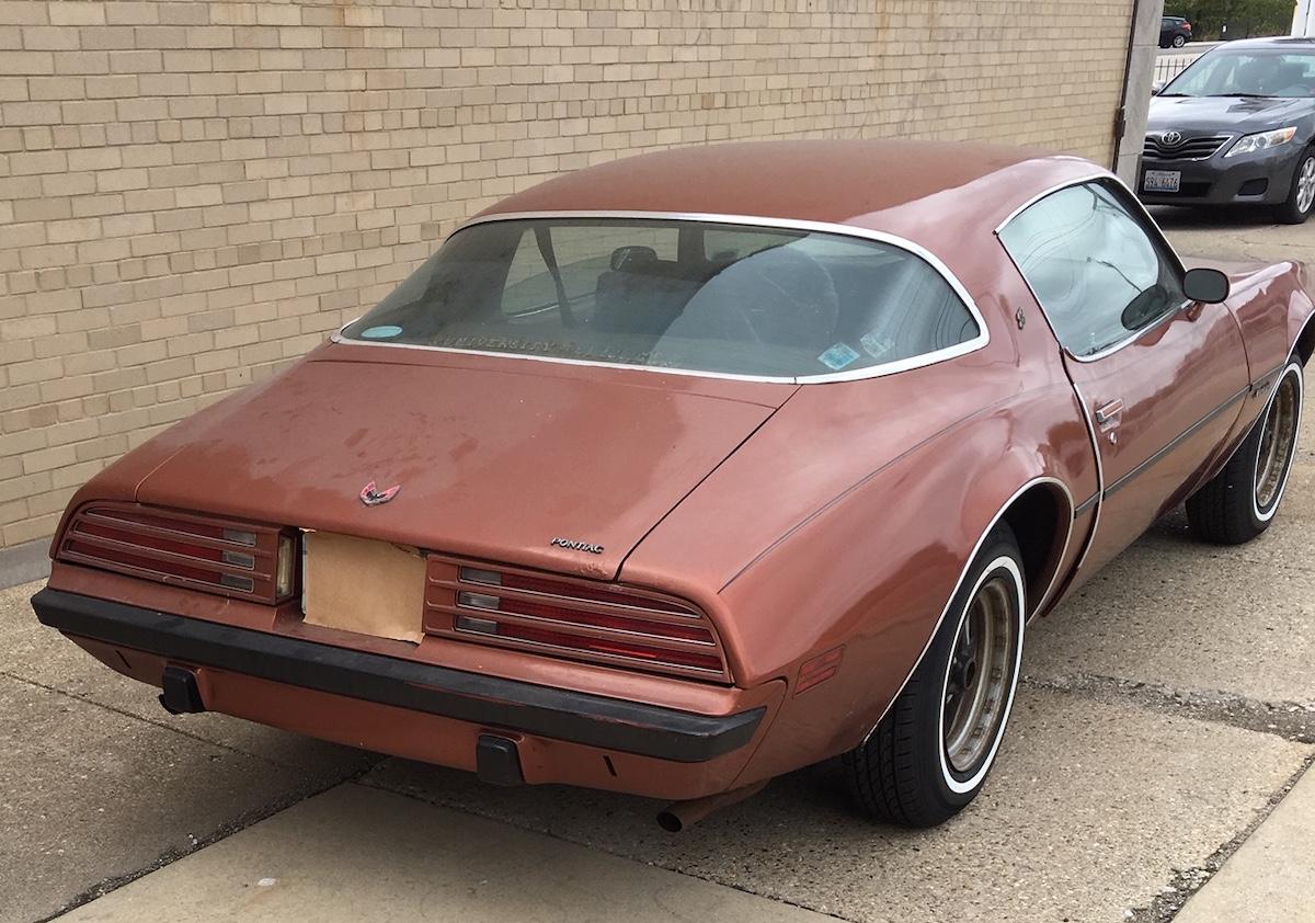 Persimmon 1975 Pontiac