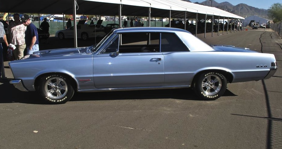 Bluemist Slate 1965 Pontiac GTO