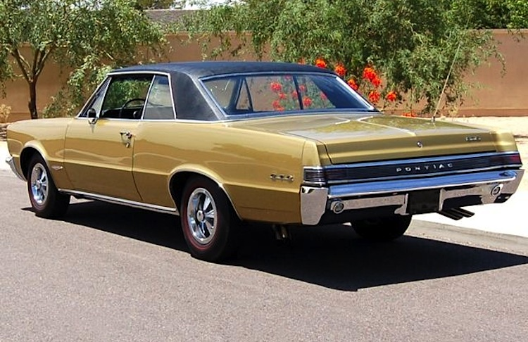 Tiger Gold 1965 Pontiac GTO  Paint Cross Reference