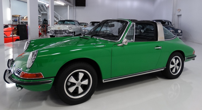 signal green 1968 911 s targa paint cross reference. Black Bedroom Furniture Sets. Home Design Ideas