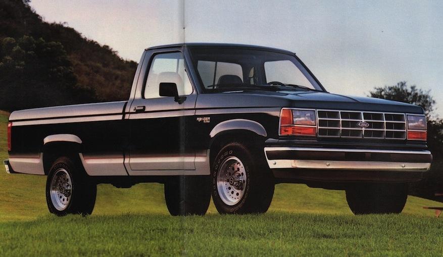 Twilight Blue 1991 Ford Truck Ranger