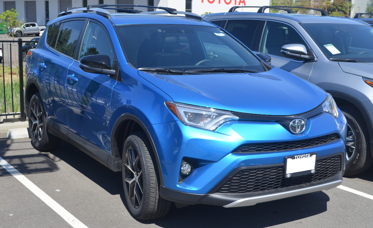 Electric Storm Blue 2016 Toyota Rav4 Paint Cross Reference