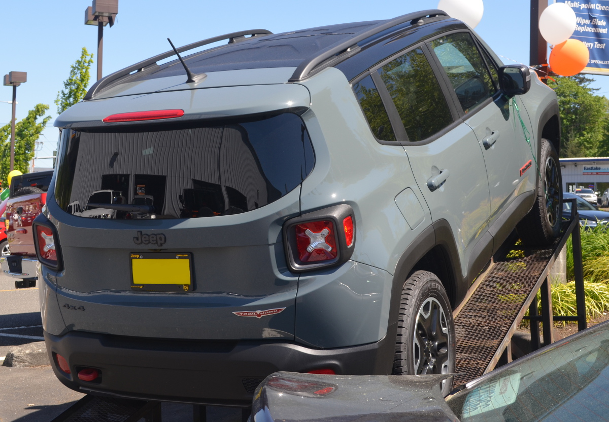 Anvil 2016 Chrysler Jeep Renegade