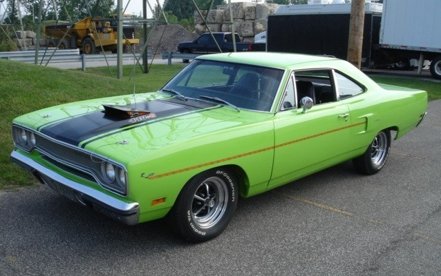 Sublime 1970 Road Runner  Paint Cross Reference