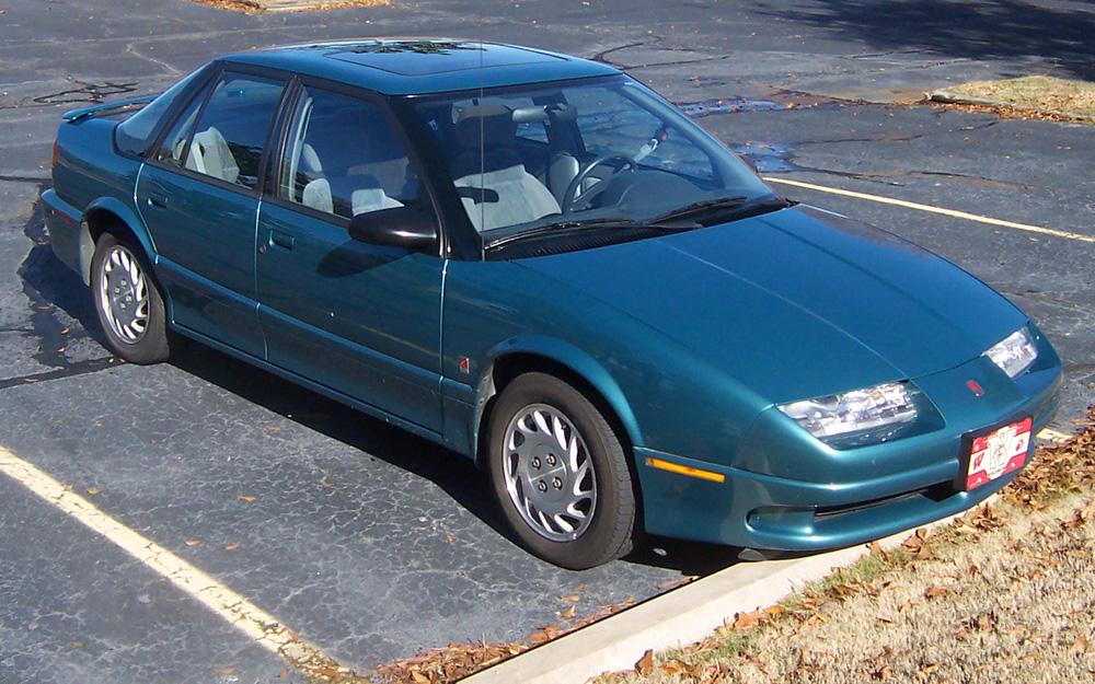 Medium Blue Green 1994 Saturn