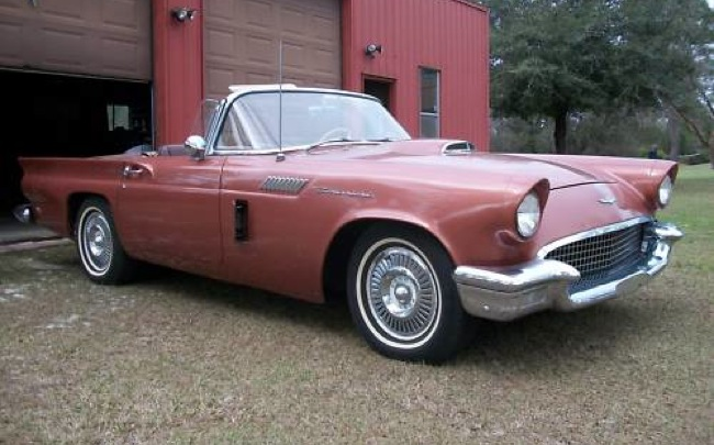 Bronze 1957 Ford Thunderbird