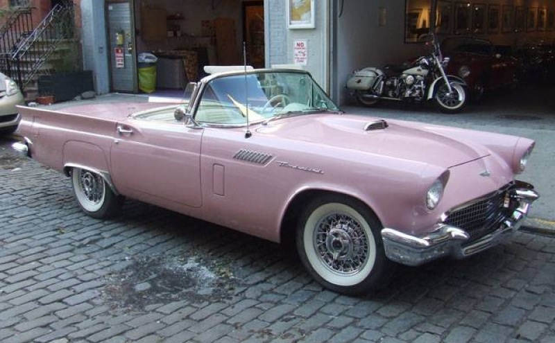 Dusk Rose 1957 Ford Thunderbird