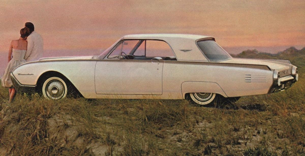 Corinthian White 1961 Ford Thunderbird