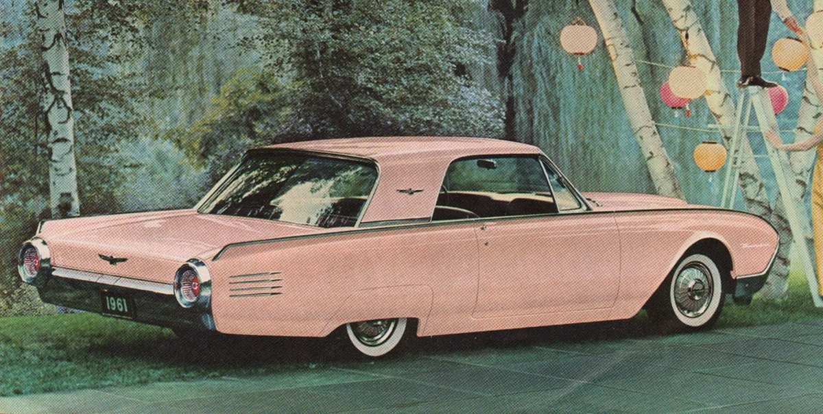 Palm Springs Rose 1961 Ford Thunderbird