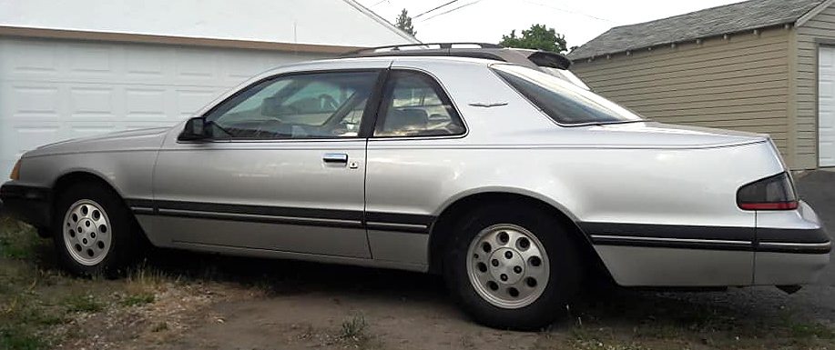 Silver 1988 Ford Thunderbird