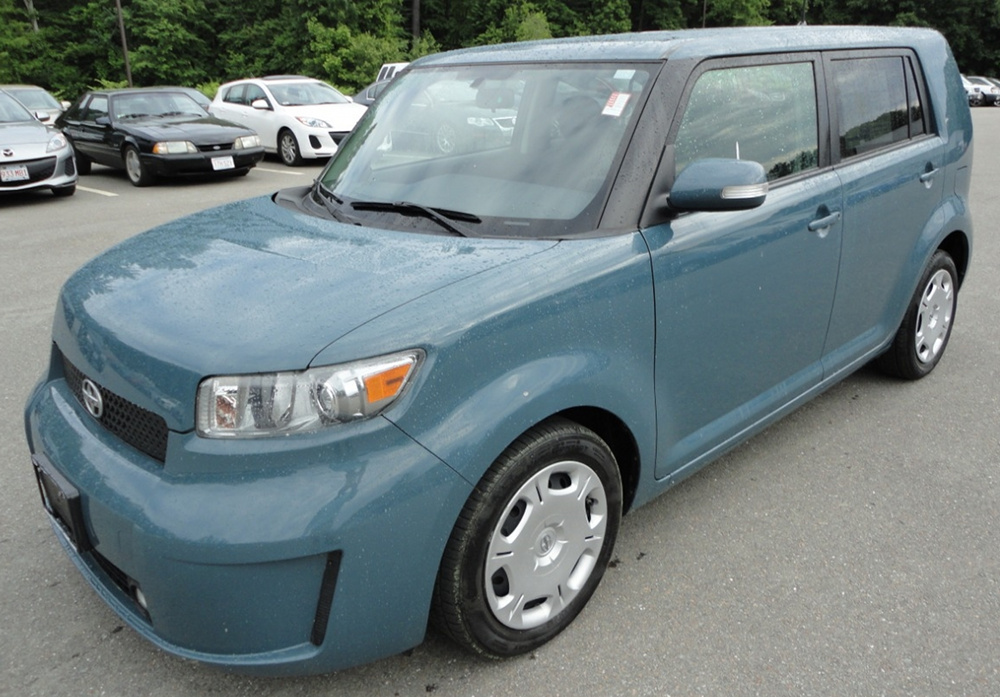 Hypnotic Teal 2010 Toyota Scion Xb Paint Cross Reference