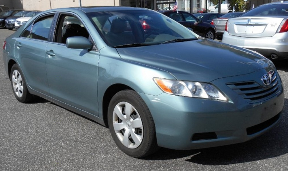 2007 Camry Paint Cross Reference