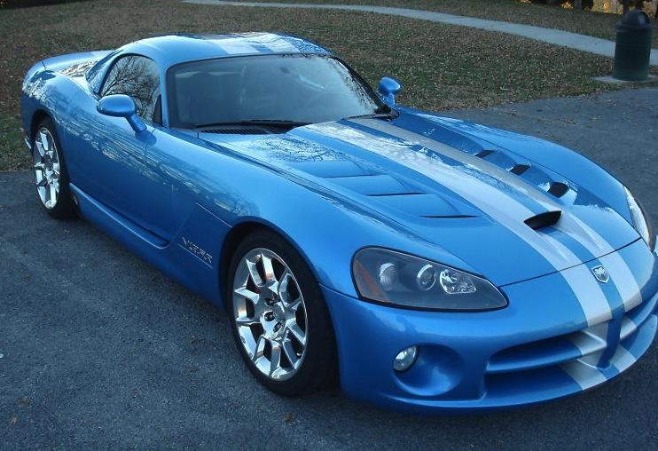 Viper Bright Blue 2008 Chrysler Dodge Viper
