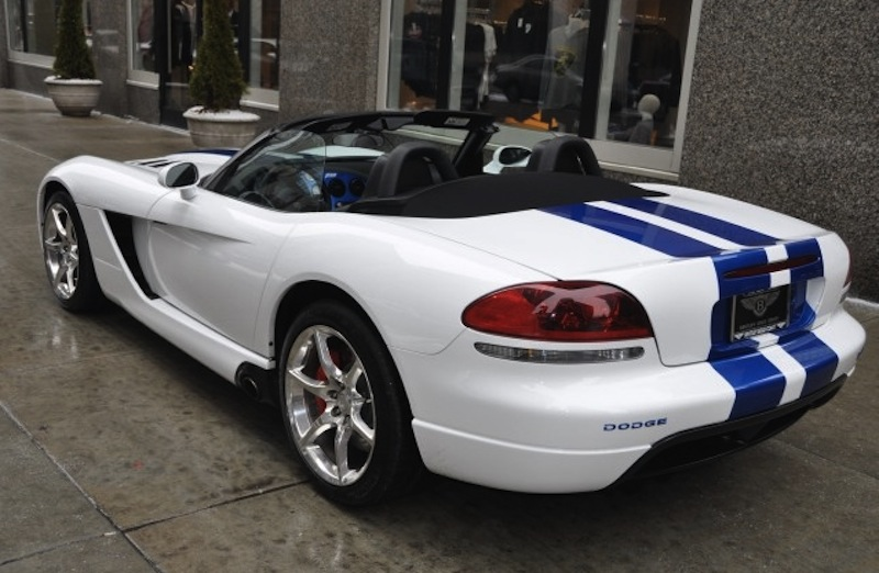 Viper Bright White 2009 Chrysler Dodge Viper