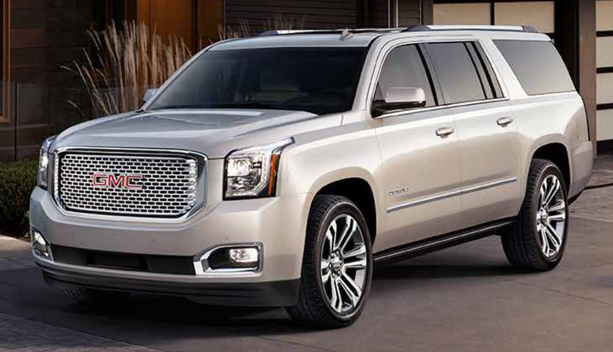 White Frost 2017 GM GMC Yukon