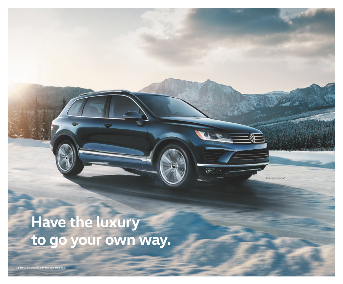 volkswagen 2017 touareg sales brochure. Black Bedroom Furniture Sets. Home Design Ideas