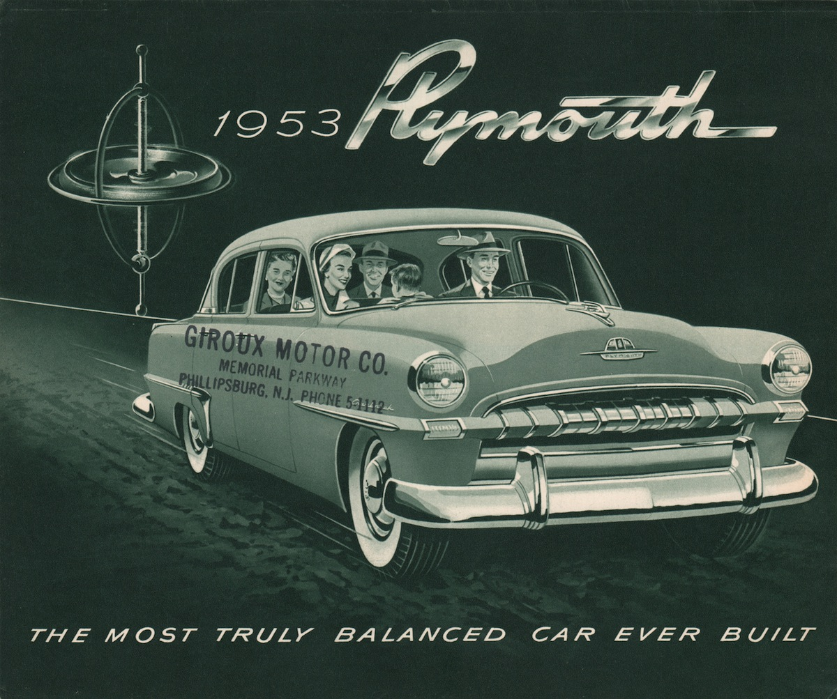 Chrysler 1953 Plymouth Sales Brochure