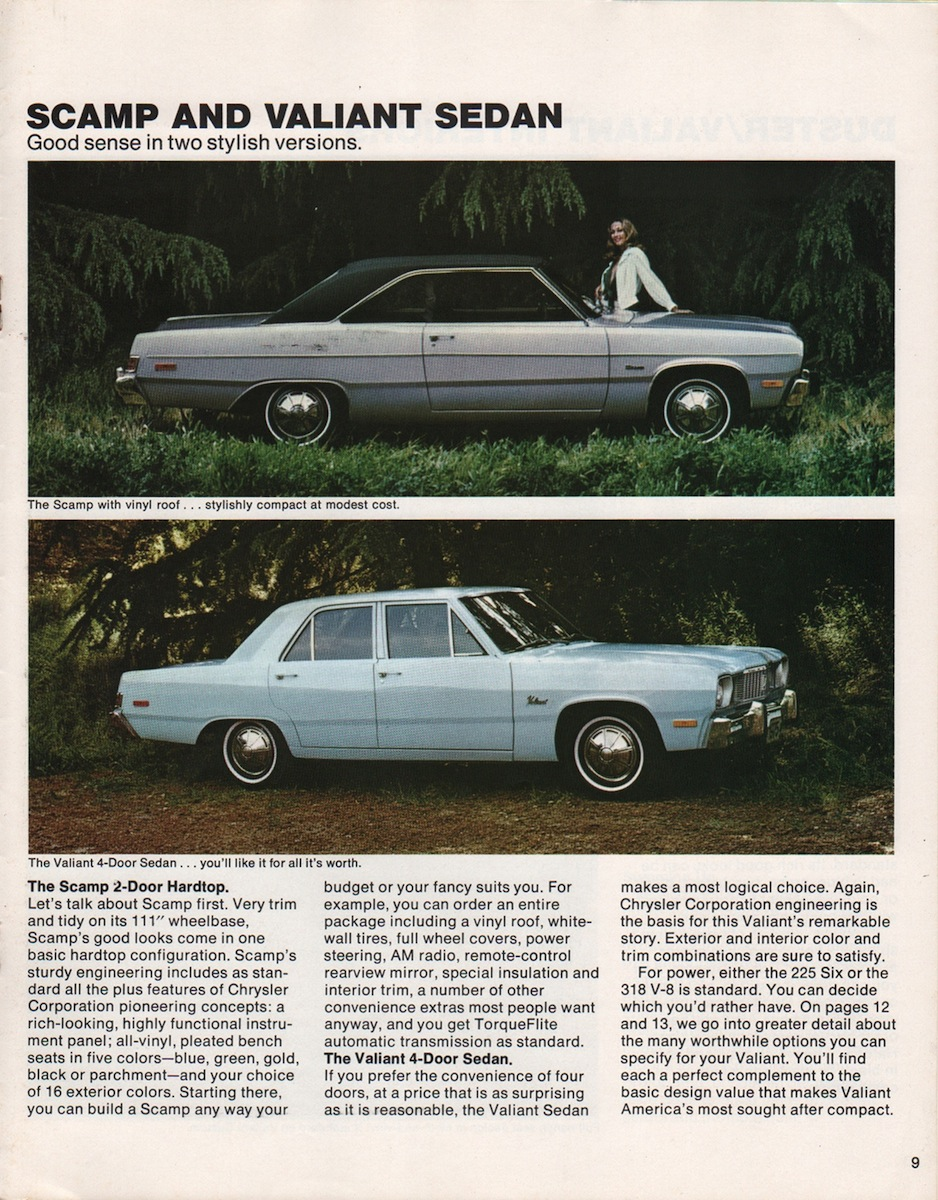 Chrysler 1975 Plymouth Valiant Sales Brochure