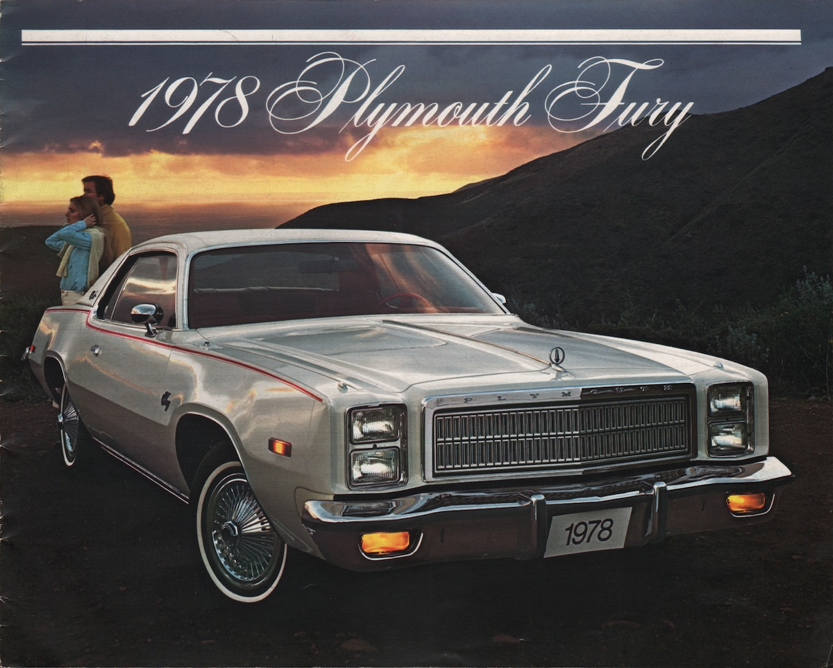 Chrysler 1978 plymouth fury sales brochure for 1976 plymouth fury salon