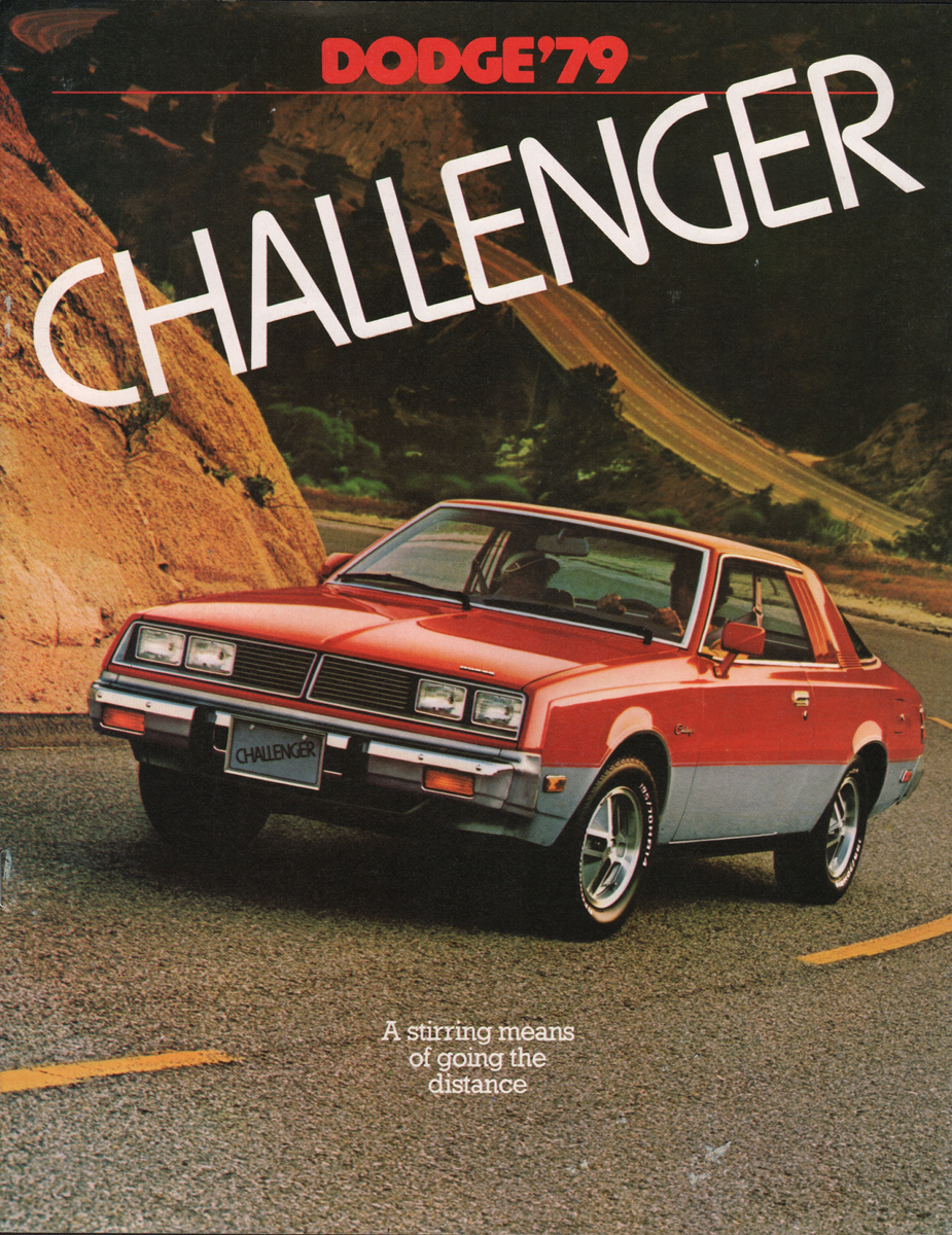 Challenger on 1989 Jeep Wrangler Sales Brochure