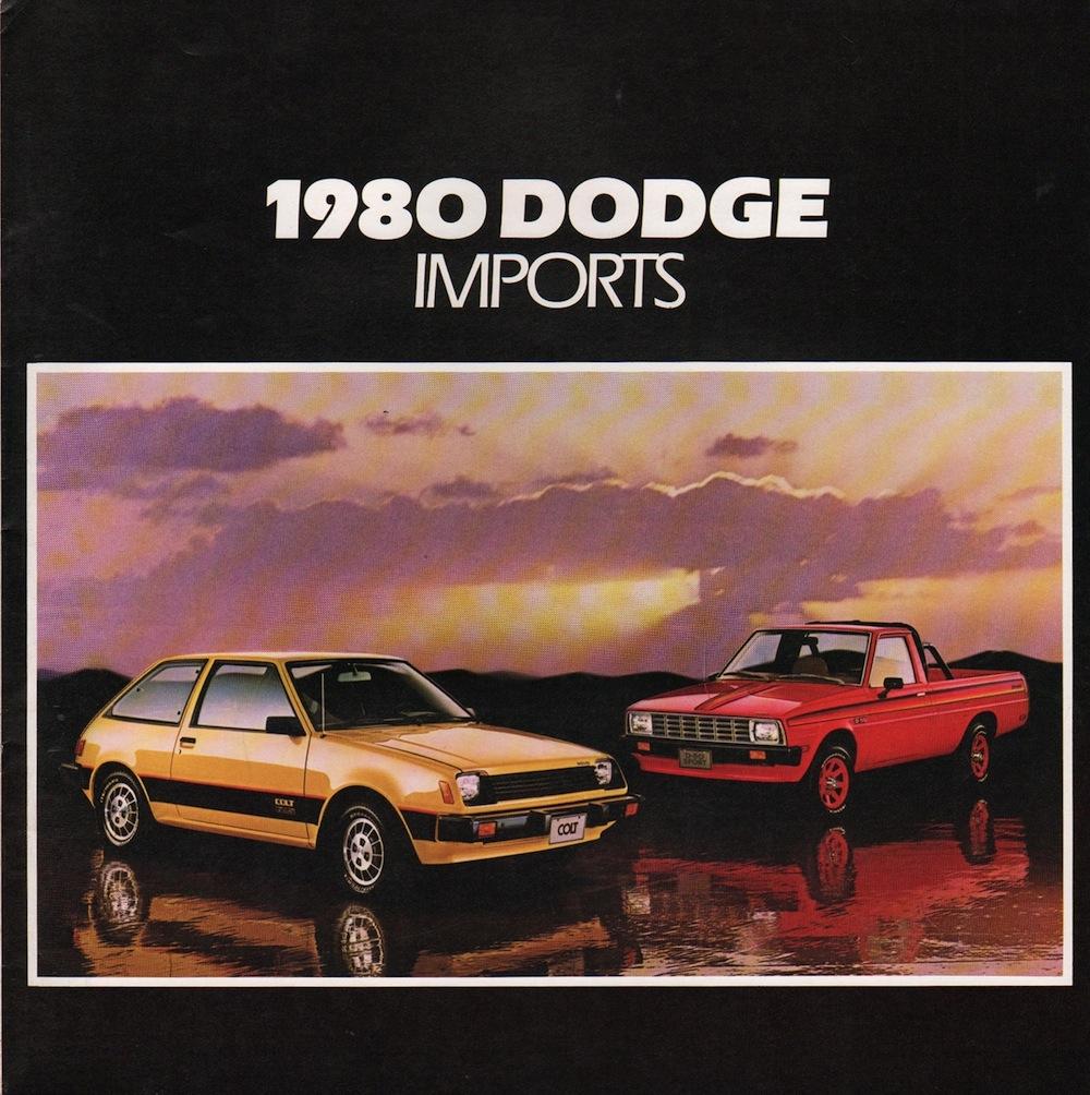 Chrysler 1980 Imports Dodge Sales Brochure