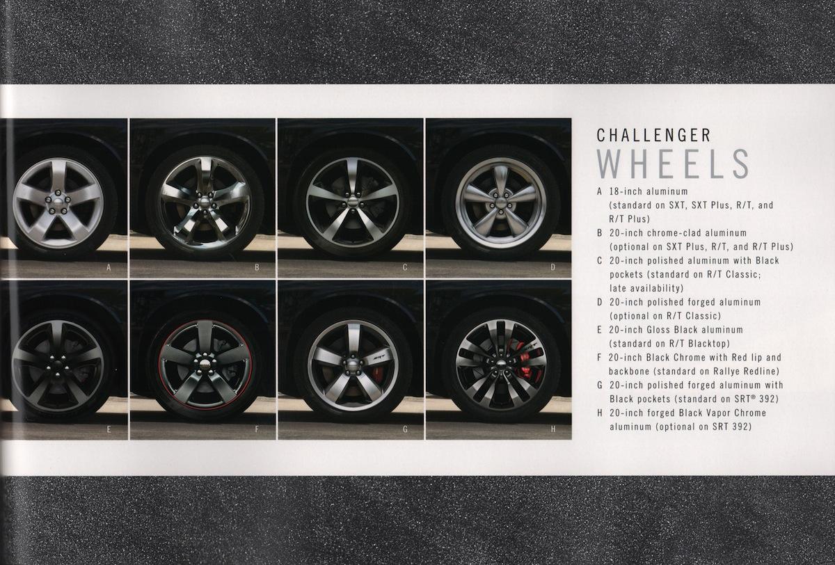 Chrysler 2013 Dodge Challenger Sales Brochure