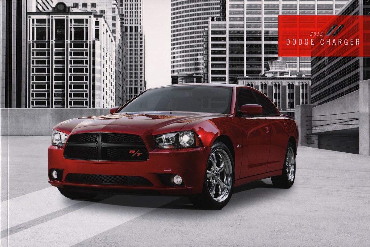 Chrysler 2013 Dodge Charger Sales Brochure