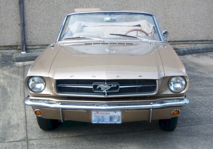 Chantilly Beige 1964 Ford Mustang