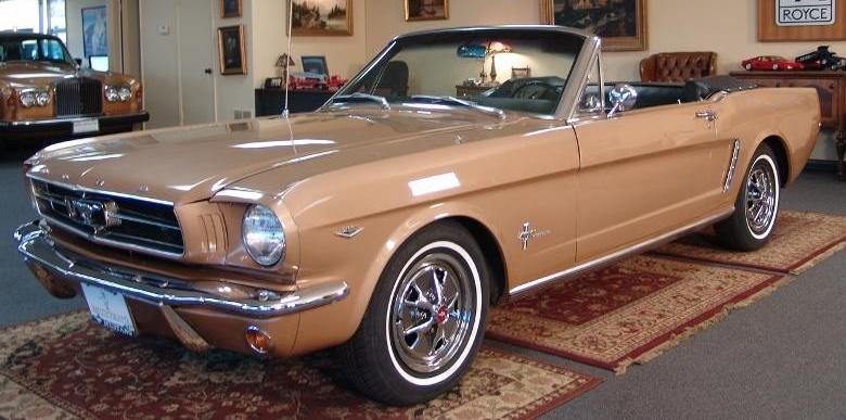 Prairie Bronze 1964 Ford Mustang
