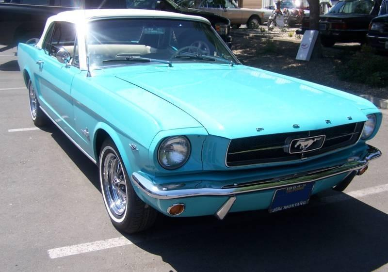 Tropical Turquoise 1964 Ford Mustang