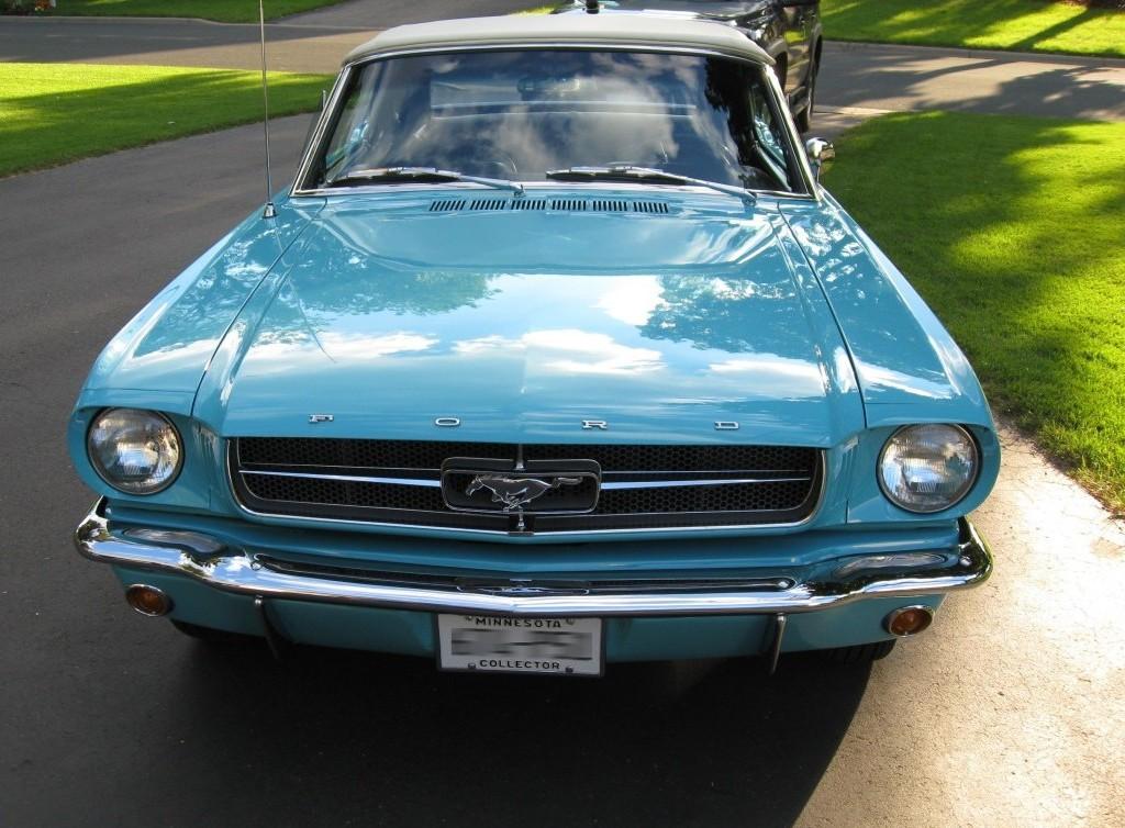 Pagoda Green 1964 Ford Mustang
