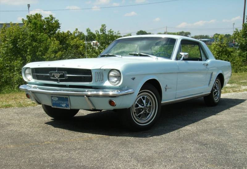 Arcadian Blue 1965 Ford Mustang