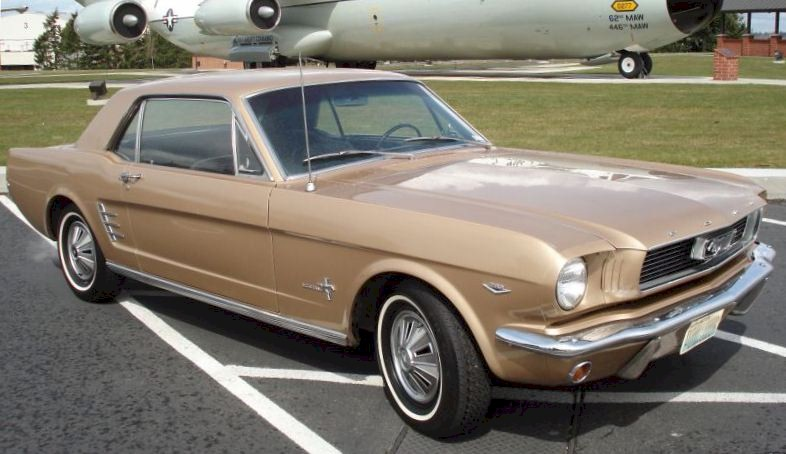 Antique Bronze 1966 Ford Mustang