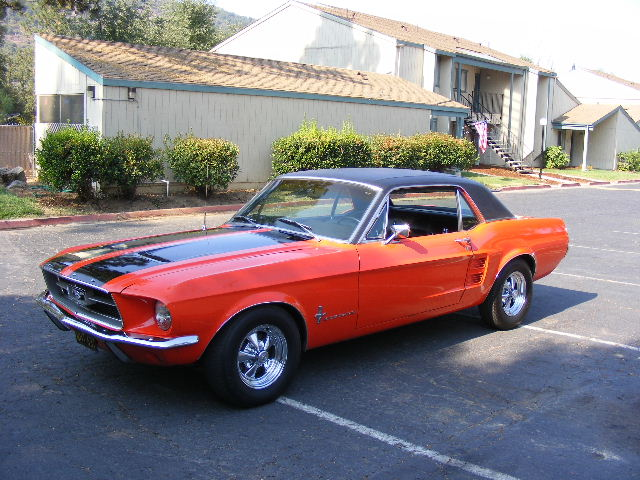 aspen red 1967 ford mustang - Red 1967 Ford Mustang Coupe