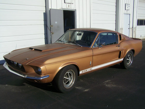 Burnt Amber 1967 Ford Mustang
