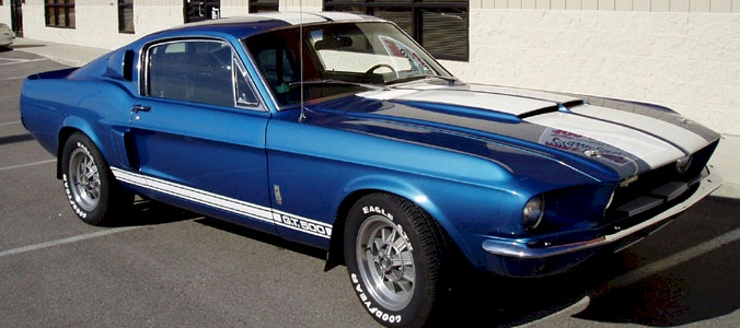 Acapulco Blue 1967 Mustang - Paint Cross Reference