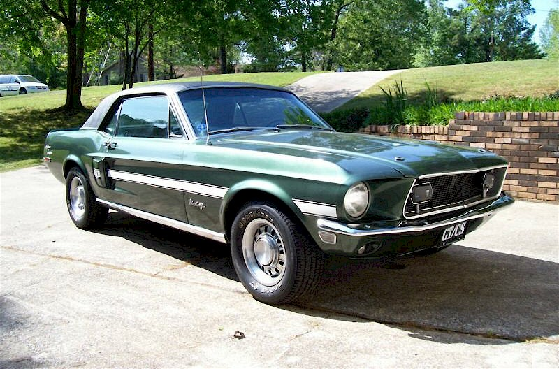 Highland Green 1968 Ford Mustang