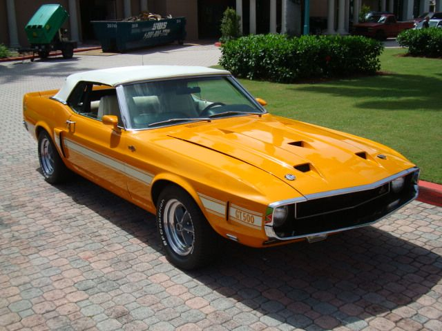 Grabber Orange 1969 Ford Mustang
