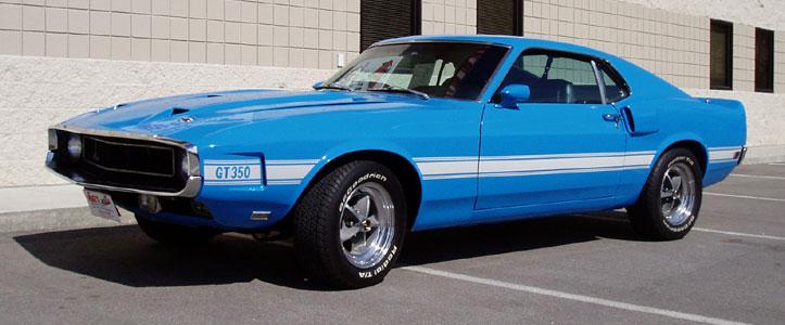 Grabber Blue 1969 Ford Mustang