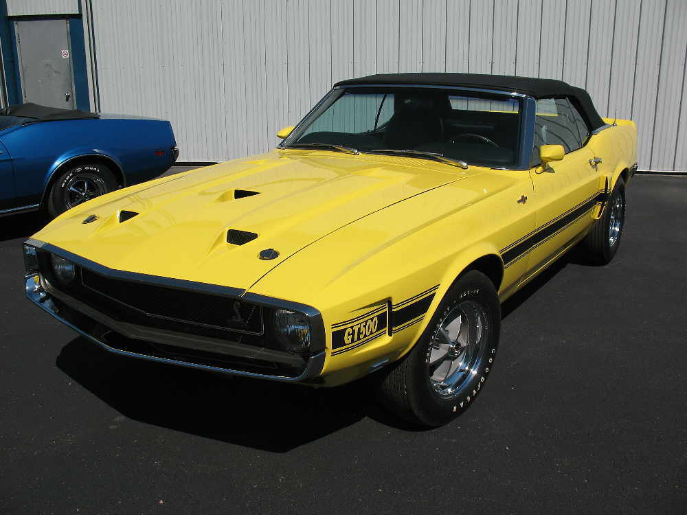Grabber Bright Yellow 1969 Mustang Paint Cross Reference