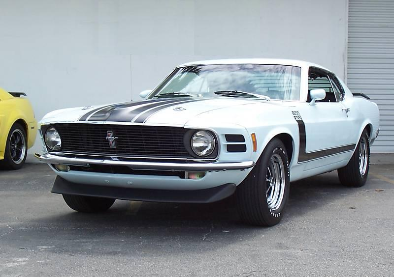 Pastel Blue 1970 Ford Mustang